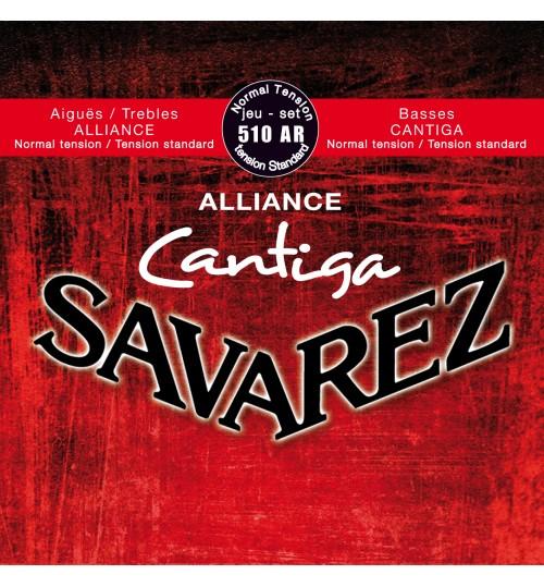 Tel Gitar Klasik Savarez Alliance Cantiga 510Ar  656237