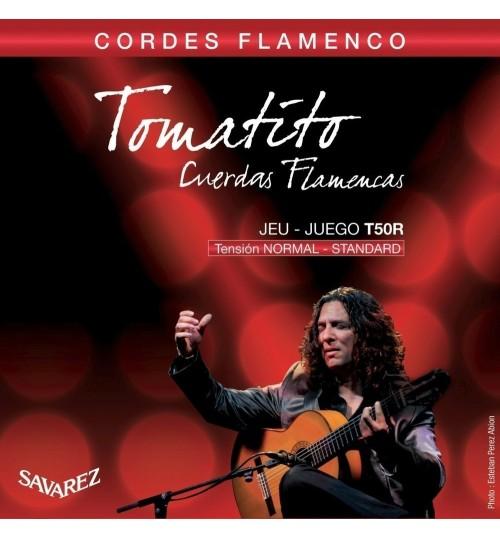 TEL GİTAR KLASİK ALLIANCE TOMATITO T50R FLAMENCO SAVAREZ 656357