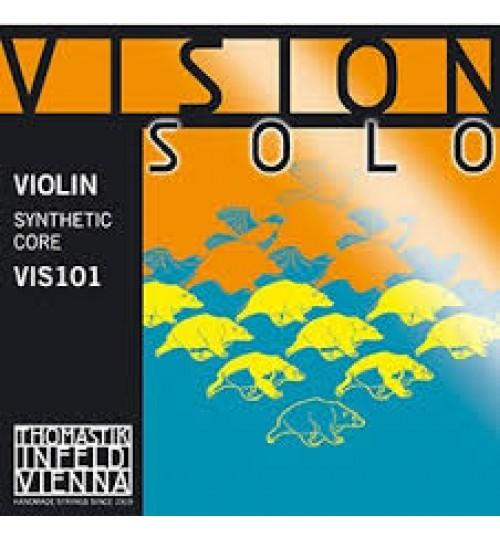 TEL KEMAN VISION SOLO RE SILVER SET THOMASTIK VIS101