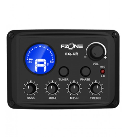 FISHMAN 4BAND EQ TUNER USB FZONE
