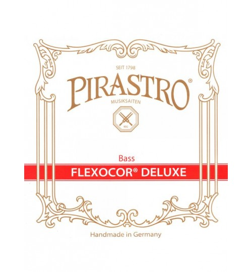 TEL KONTRABASS FLEXCOR DELUXE ORCHESTER SET MEDIUM PIRASTRO
